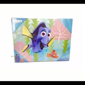 NWT Disney Finding Dory LED Canvas Wall Art